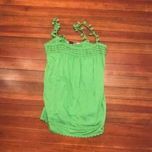 Green Juicy Couture tank top